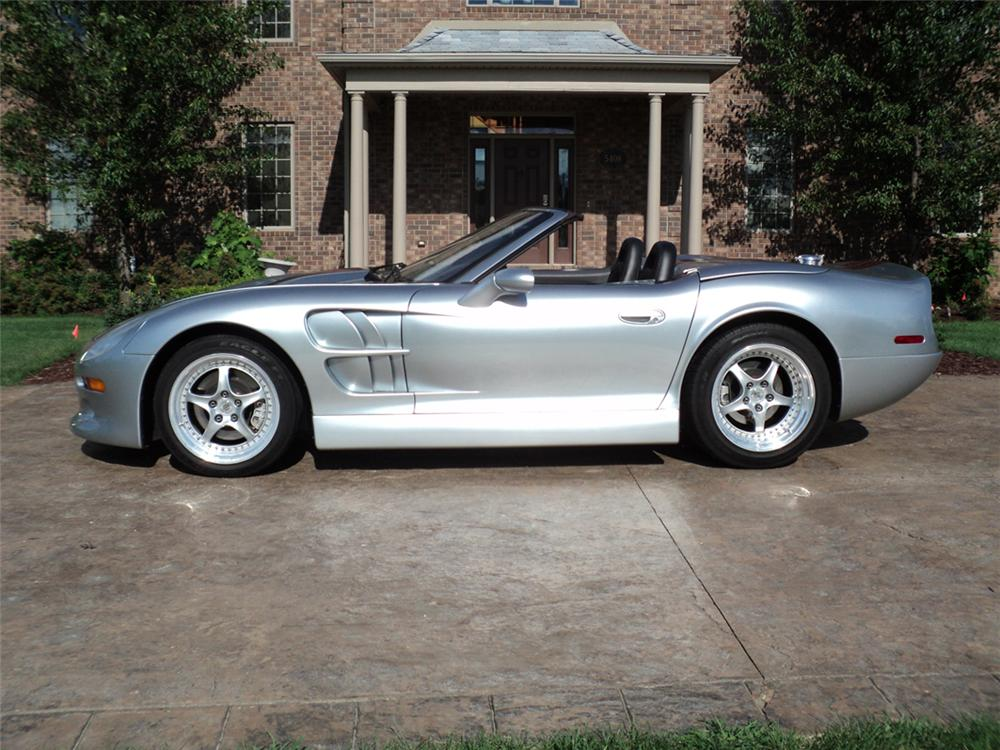1999 SHELBY SERIES 1 CONVERTIBLE - Side Profile - 117491