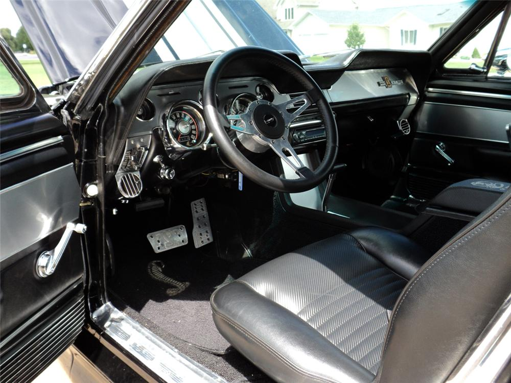 1968 FORD MUSTANG CUSTOM CONVERTIBLE - Interior - 117493