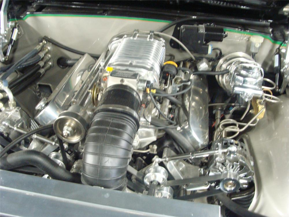1968 PONTIAC FIREBIRD CUSTOM CONVERTIBLE - Engine - 117494