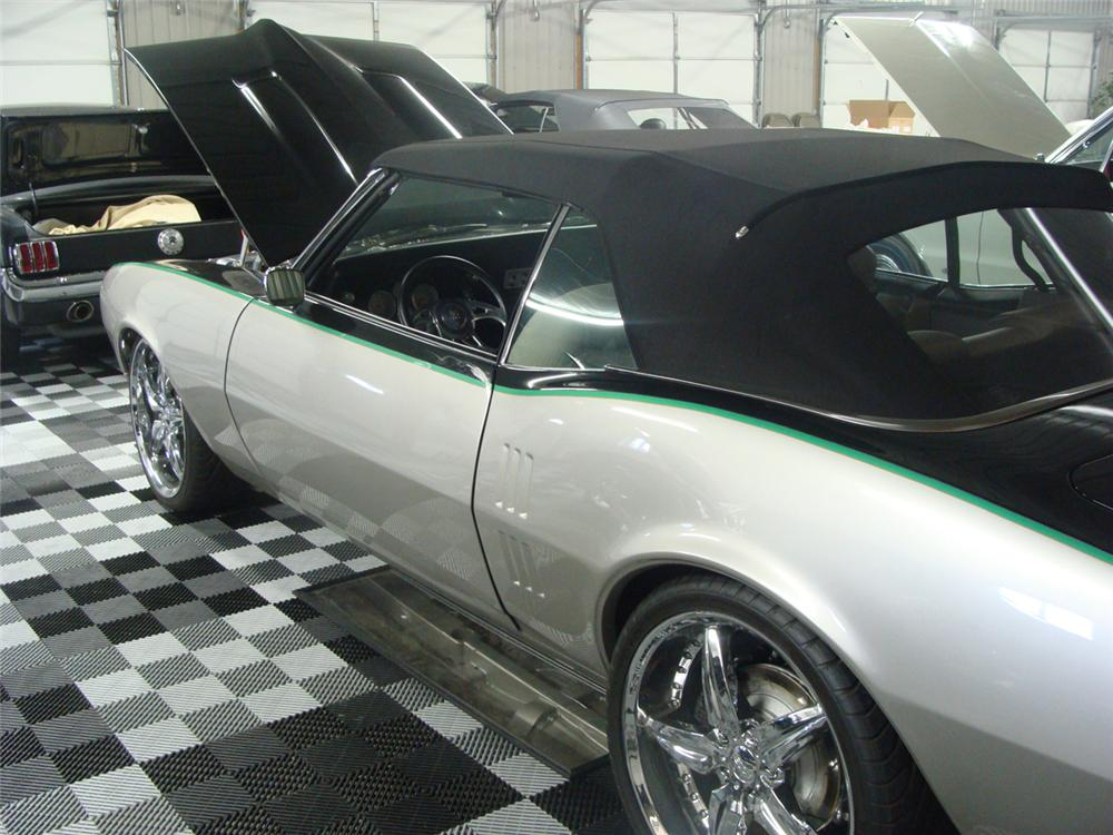 1968 PONTIAC FIREBIRD CUSTOM CONVERTIBLE - Rear 3/4 - 117494