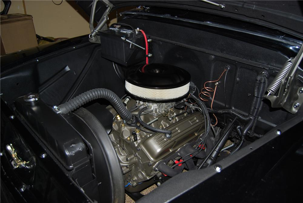 1956 CHEVROLET APACHE CUSTOM PICKUP - Engine - 117495