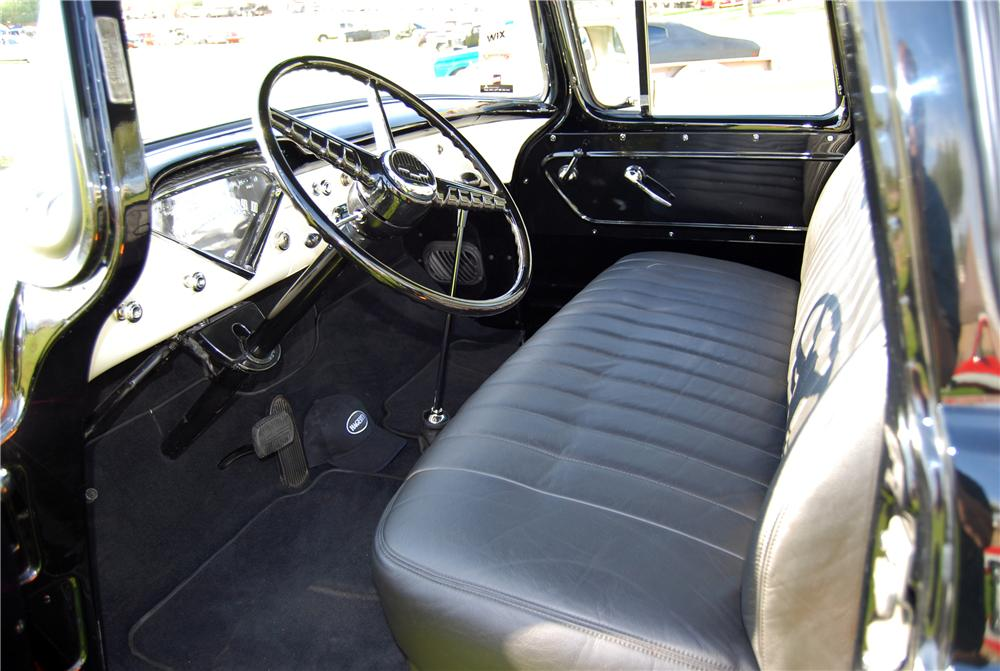 1956 CHEVROLET APACHE CUSTOM PICKUP - Interior - 117495