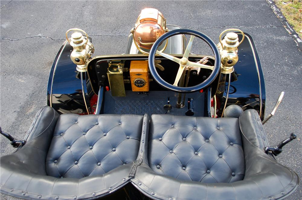 1907 CADILLAC MODEL M TOURING - Interior - 117498