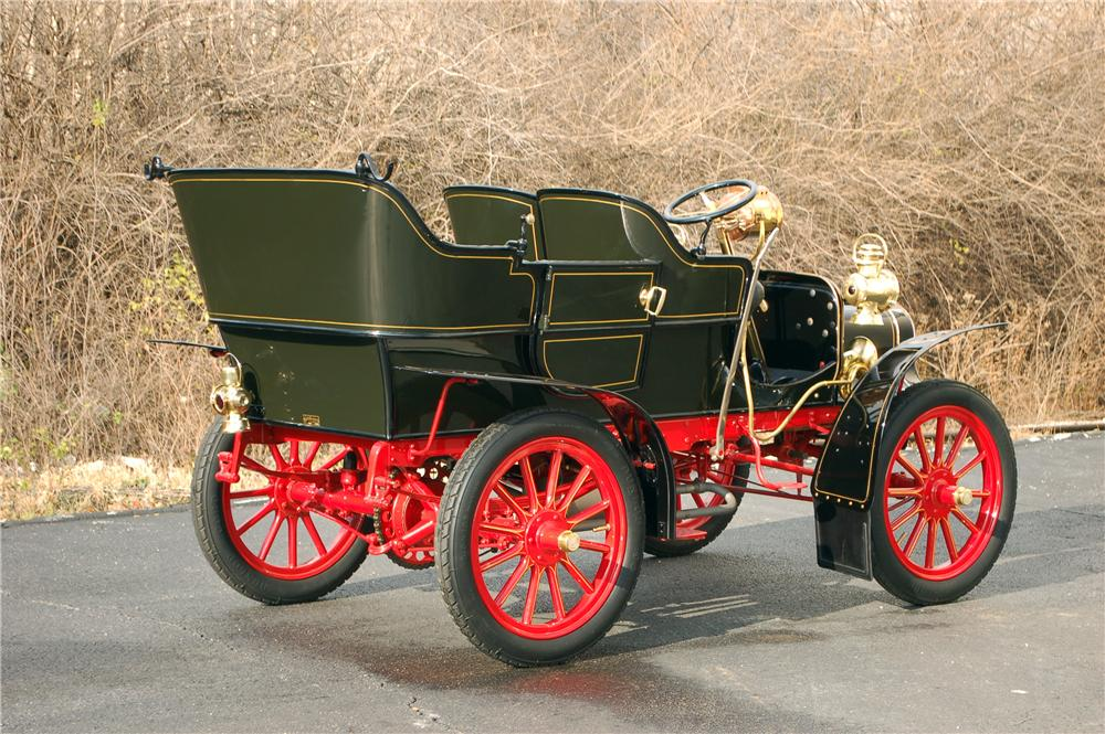 1907 CADILLAC MODEL M TOURING - Rear 3/4 - 117498