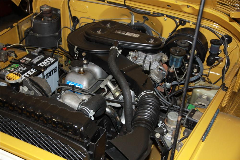 1976 TOYOTA LAND CRUISER FJ-40 SUV - Engine - 117501