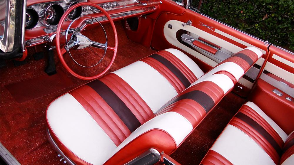 1959 PONTIAC BONNEVILLE TRI-POWER CONVERTIBLE - Interior - 117502
