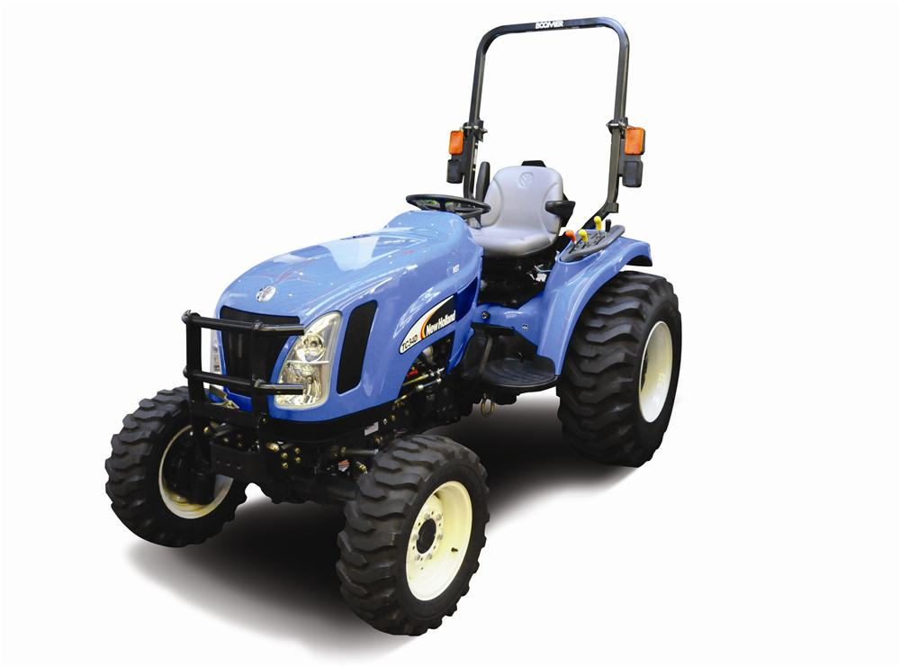 2007 NEW HOLLAND BOOMER TRACTOR - Front 3/4 - 117508
