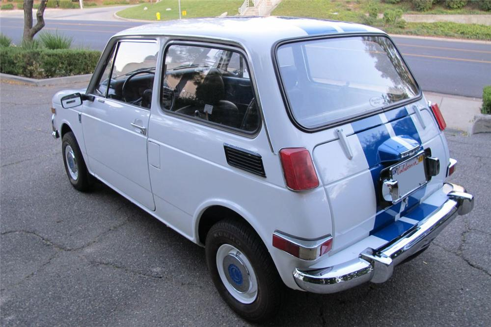 1970 HONDA N600 COUPE - Rear 3/4 - 117509