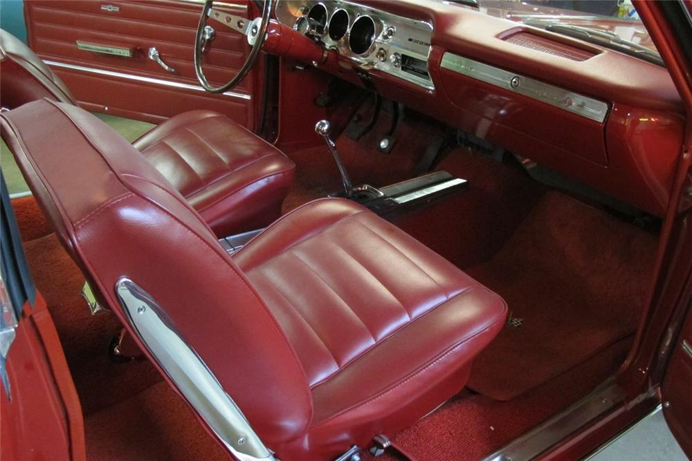 1965 chevelle ss chevrolet interior coupe