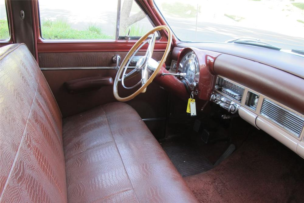 1953 CHRYSLER NEW YORKER TOWN & COUNTRY STATION WAGON - Interior - 117511