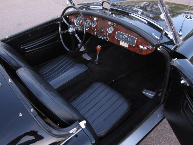 1958 MG A CONVERTIBLE - Interior - 117513