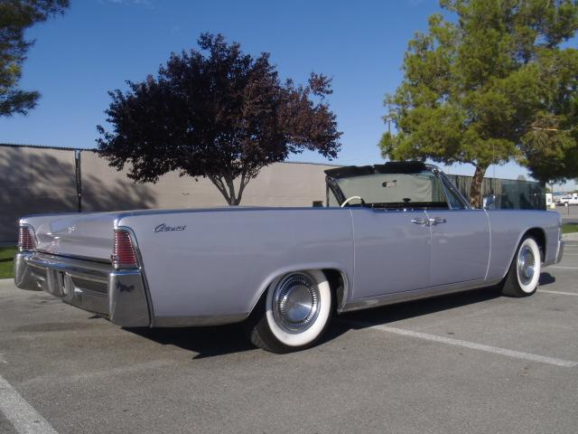 1965 lincoln continental convertible 117521. Black Bedroom Furniture Sets. Home Design Ideas