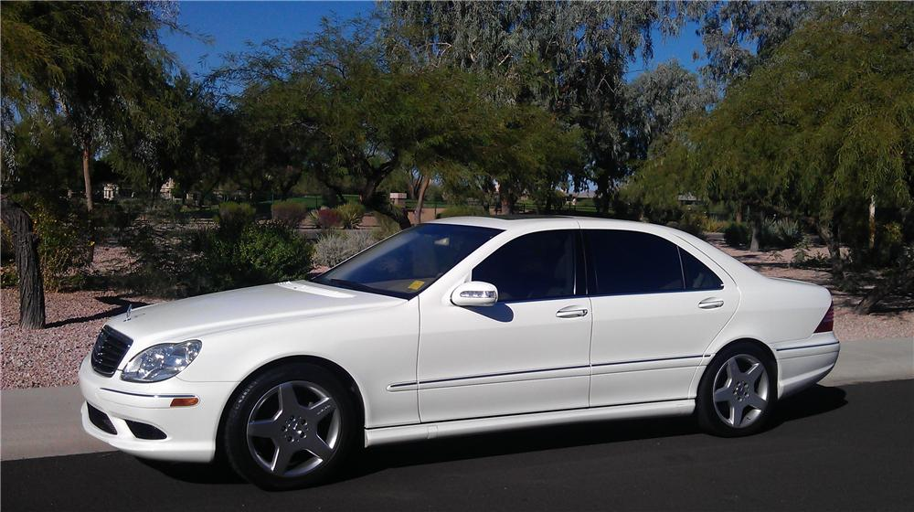 2003 MERCEDES-BENZ S430 SPORT SEDAN - Side Profile - 117525