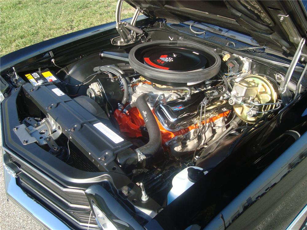 1970 CHEVROLET CHEVELLE SS 454 COUPE - Engine - 117630