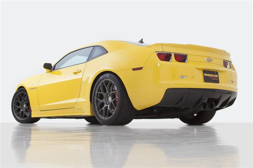 2011 CHEVROLET CAMARO SS COUPE - Rear 3/4 - 117647