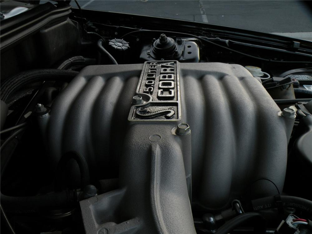 1995 FORD MUSTANG COBRA SVT CONVERTIBLE - Engine - 117649