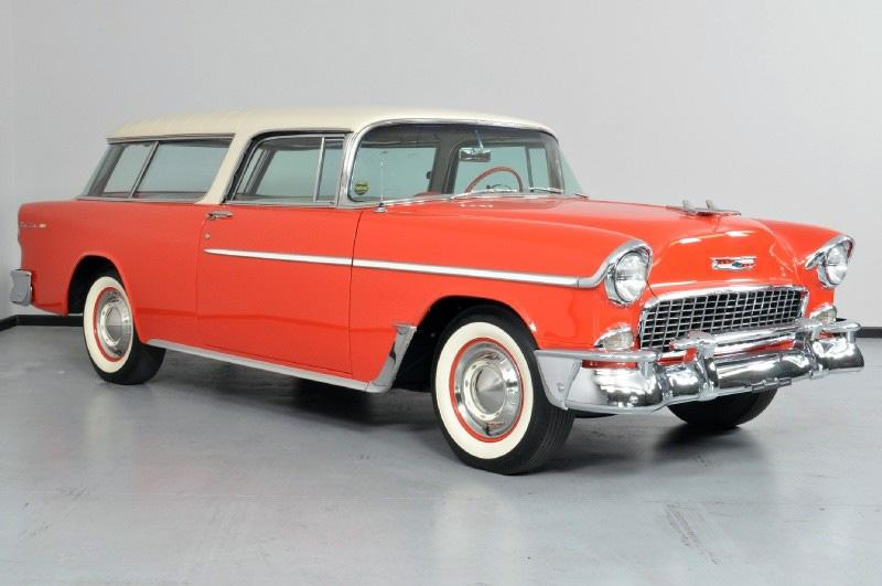 1955 CHEVROLET NOMAD WAGON - Front 3/4 - 117651