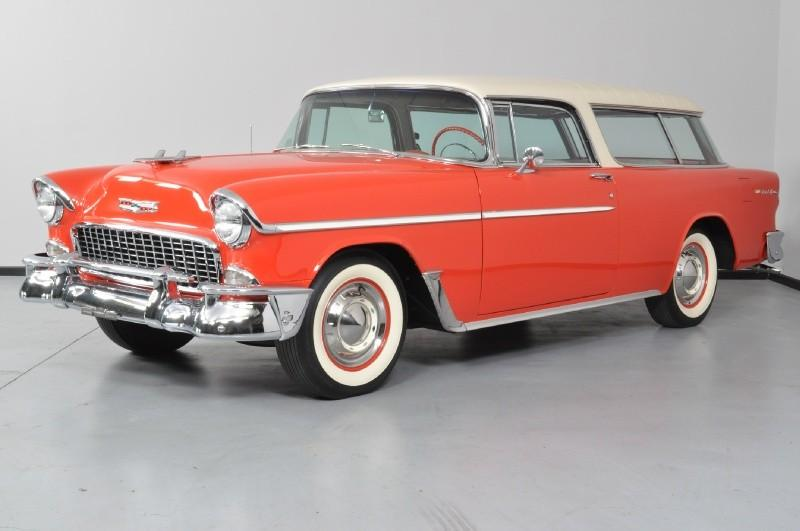 1955 CHEVROLET NOMAD WAGON - Side Profile - 117651