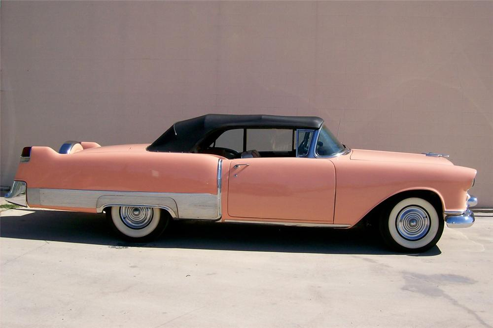 1954 OLDSMOBILE CUSTOM CONVERTIBLE - Side Profile - 117655