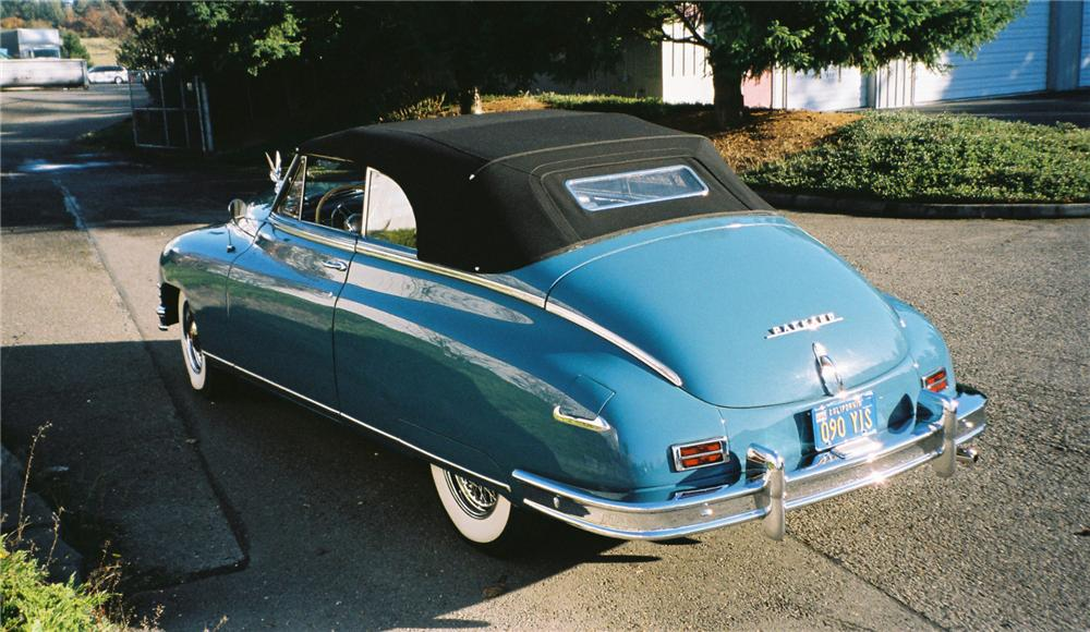 1948 PACKARD VICTORIA CONVERTIBLE - Rear 3/4 - 117658