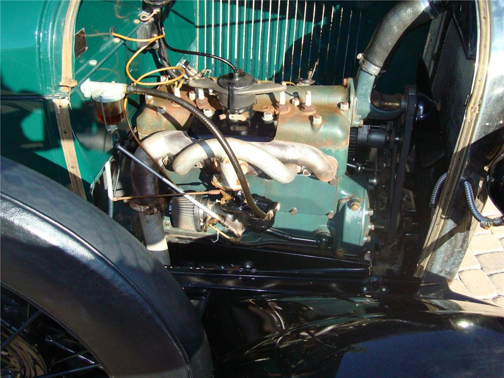 1928 FORD MODEL A PICKUP - Engine - 117659