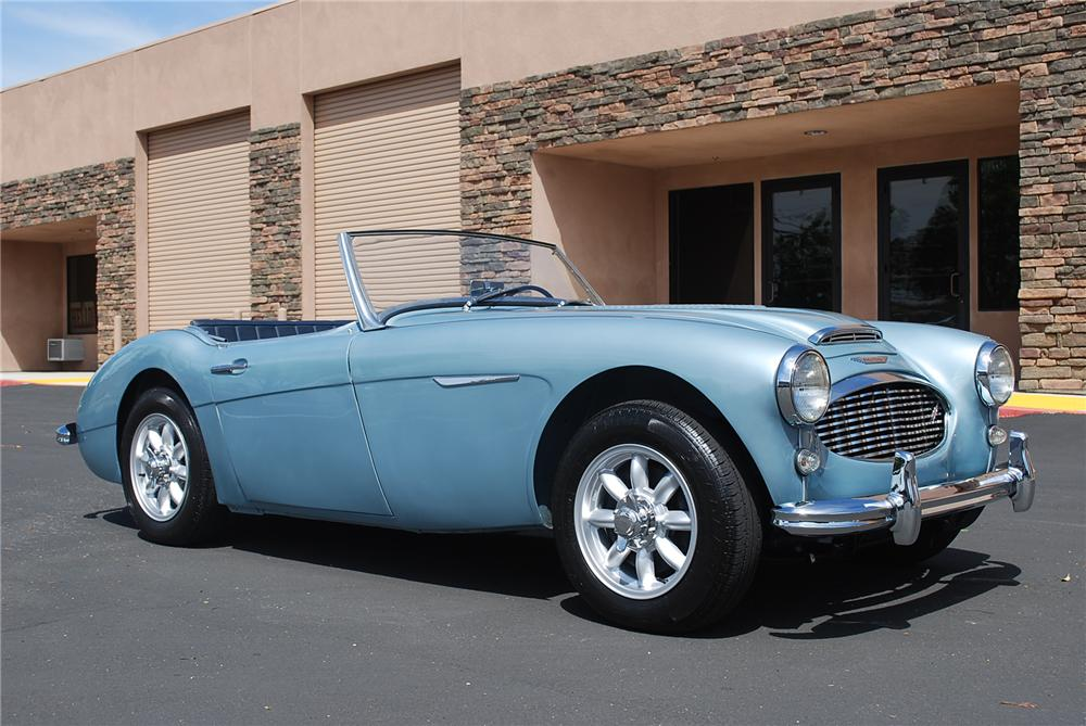 1959 AUSTIN-HEALEY CUSTOM ROADSTER - Front 3/4 - 117660