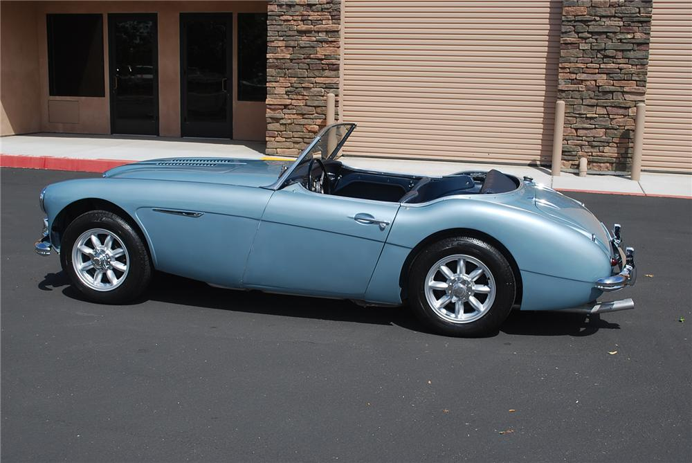 1959 AUSTIN-HEALEY CUSTOM ROADSTER - Side Profile - 117660