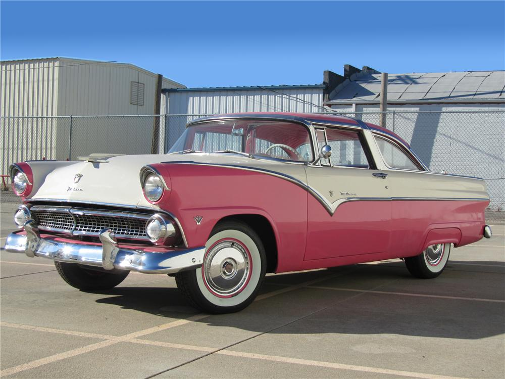 1955 ford crown victoria 2 door hardtop front 3 4 117661. Cars Review. Best American Auto & Cars Review