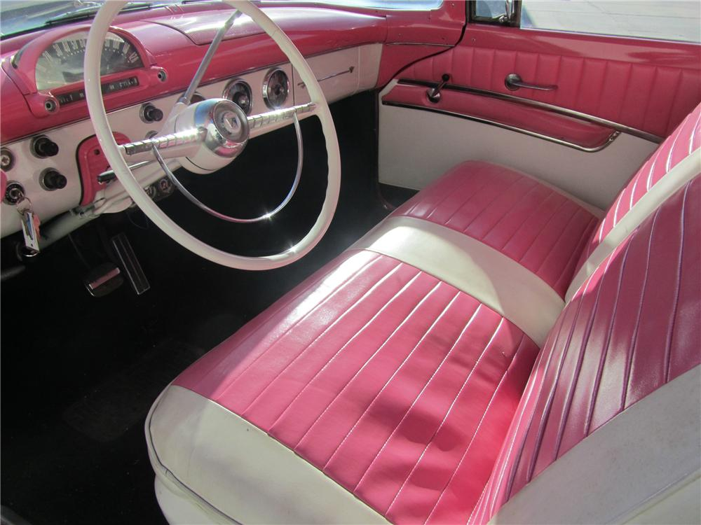 crown victoria ford 1955 door hardtop interior cars barrett jackson