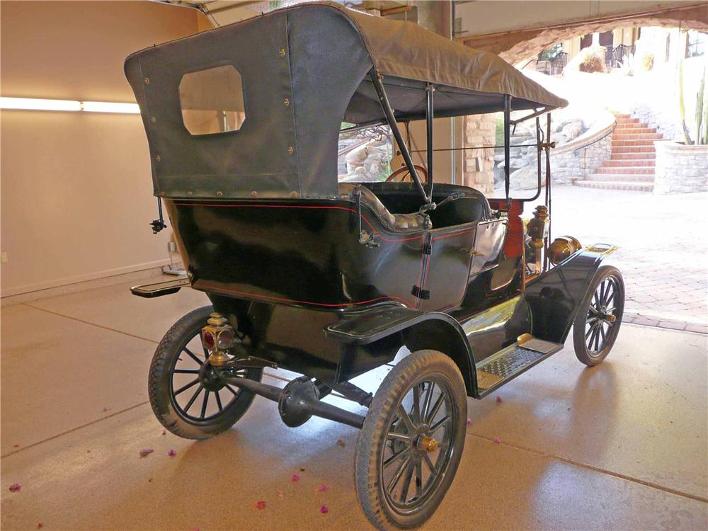 1910 FORD MODEL T TOURING - Rear 3/4 - 117665