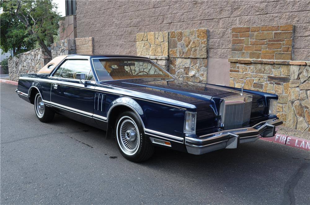 1977 Lincoln Continental Mark V 2 Door Hardtop 117667