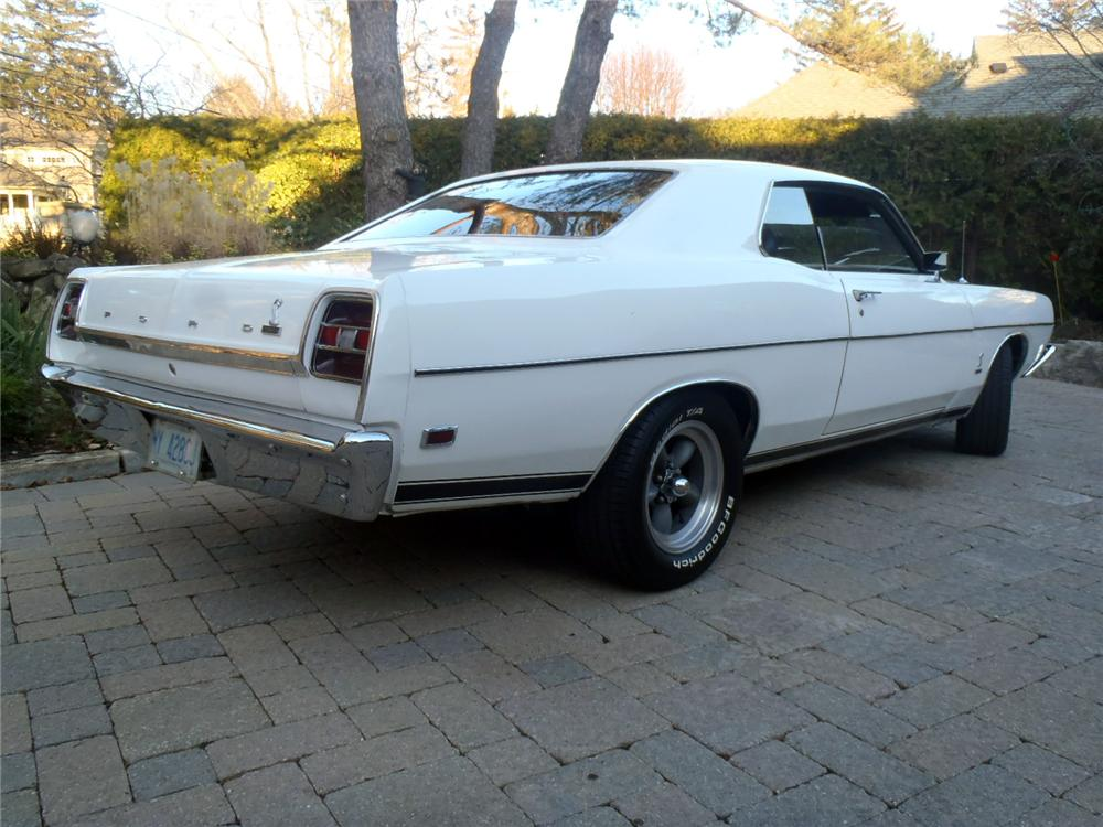1969 FORD TORINO COBRA 2 DOOR COUPE - Rear 3/4 - 117668