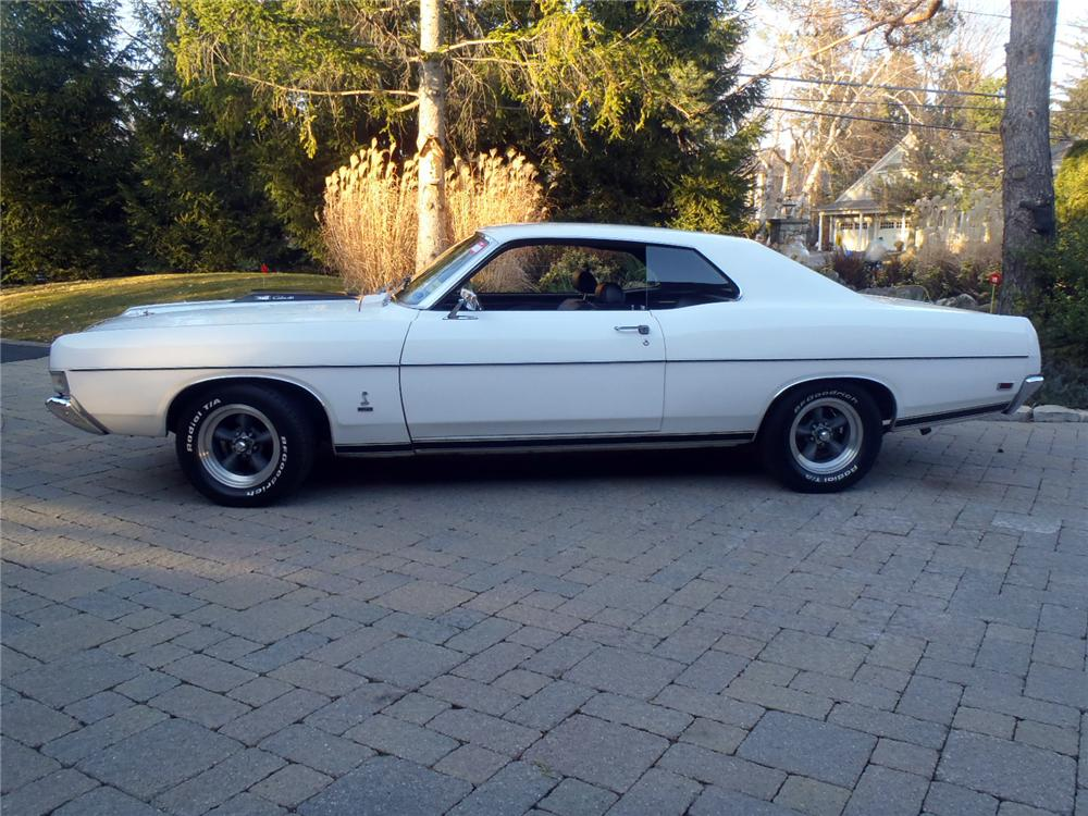1969 FORD TORINO COBRA 2 DOOR COUPE - Side Profile - 117668