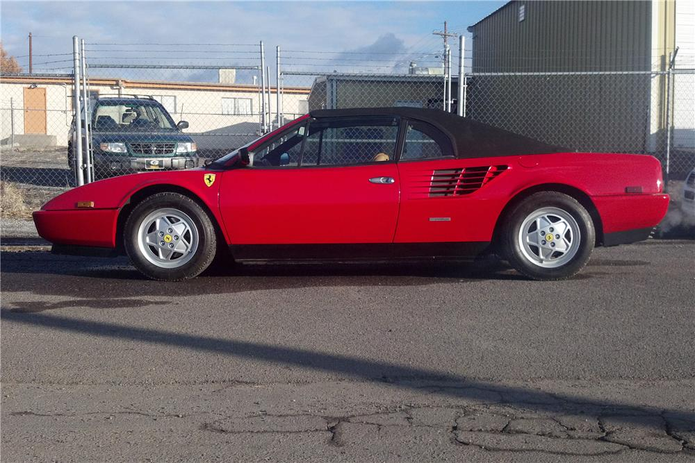 1986 FERRARI MONDIAL CONVERTIBLE - Side Profile - 117670