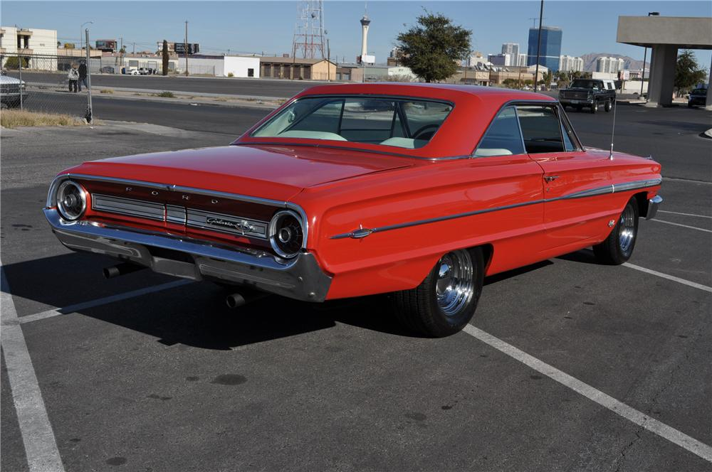 1964 FORD GALAXIE 500 XL 2 DOOR COUPE - Rear 3/4 - 117673