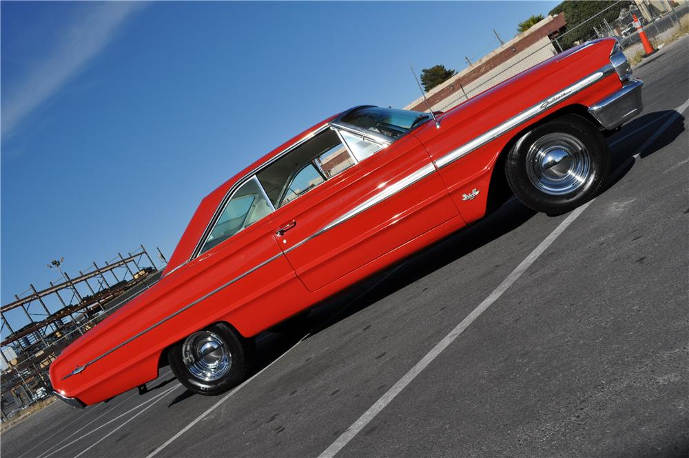 1964 FORD GALAXIE 500 XL 2 DOOR COUPE - Side Profile - 117673
