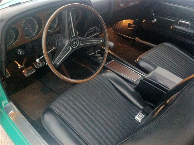 1970 FORD MUSTANG BOSS 429 FASTBACK - Interior - 117682
