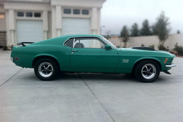 1970 FORD MUSTANG BOSS 429 FASTBACK - Side Profile - 117682