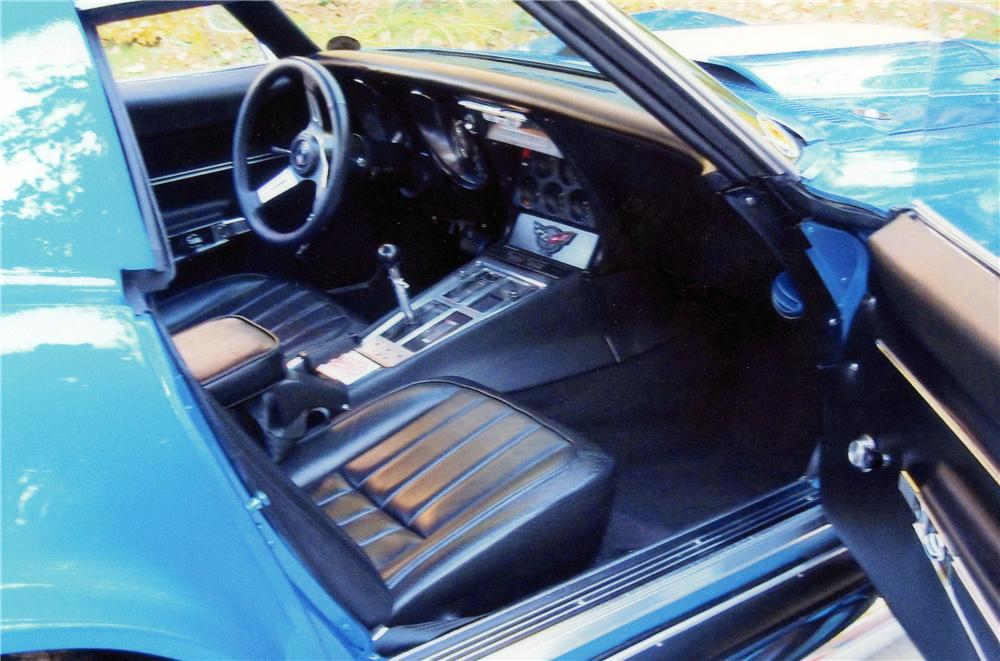 1968 CHEVROLET CORVETTE CUSTOM 2 DOOR COUPE - Interior - 117692