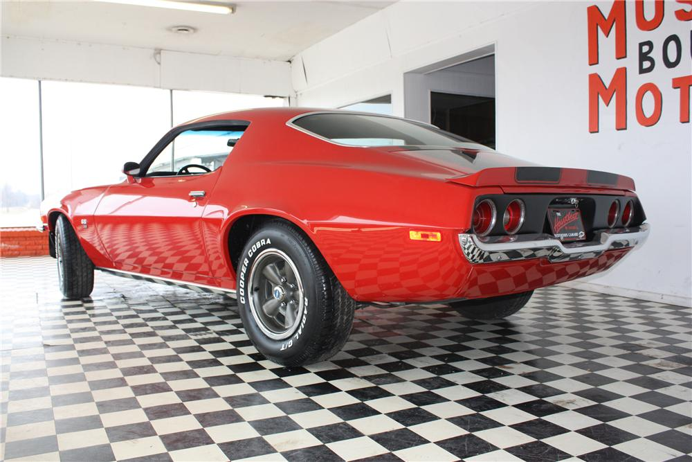 1970 CHEVROLET CAMARO RS/SS 2 DOOR COUPE - Rear 3/4 - 117695