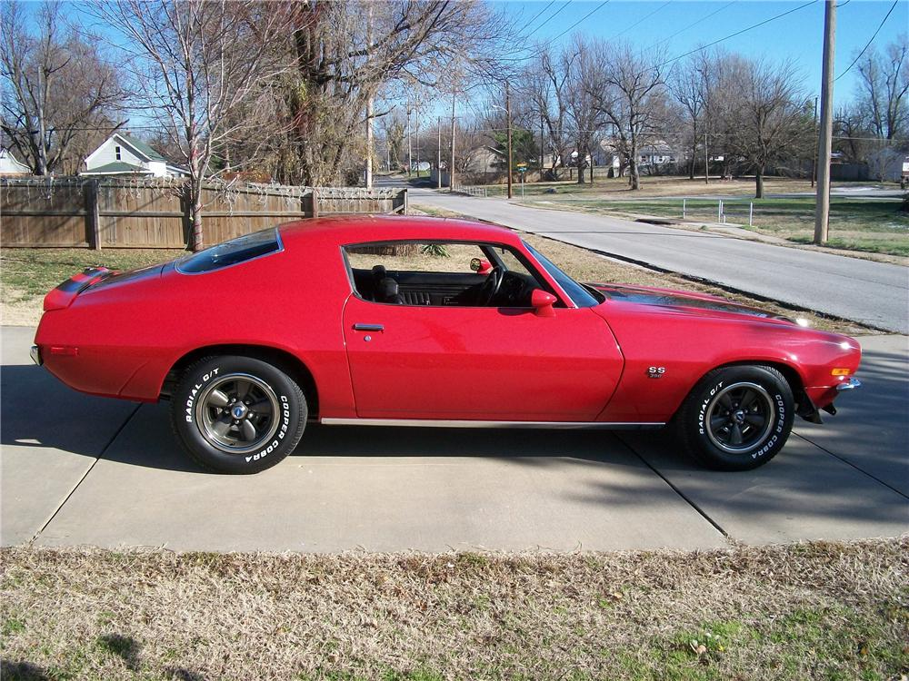 1970 CHEVROLET CAMARO RS/SS 2 DOOR COUPE - Side Profile - 117695