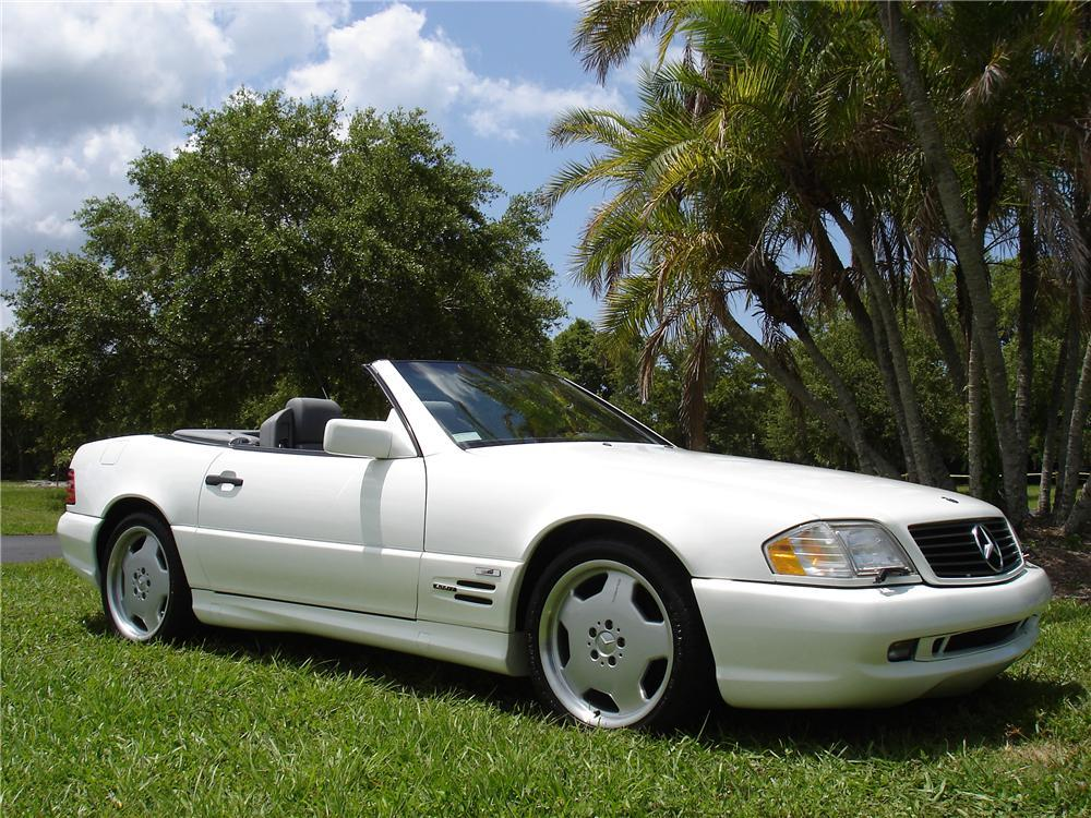 1996 MERCEDES-BENZ 500SL CONVERTIBLE - Front 3/4 - 117696