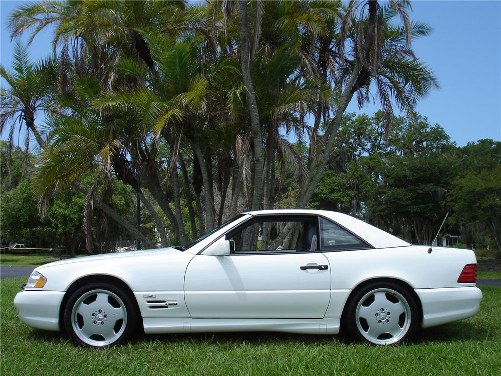 1996 mercedes benz 500sl convertible 117696