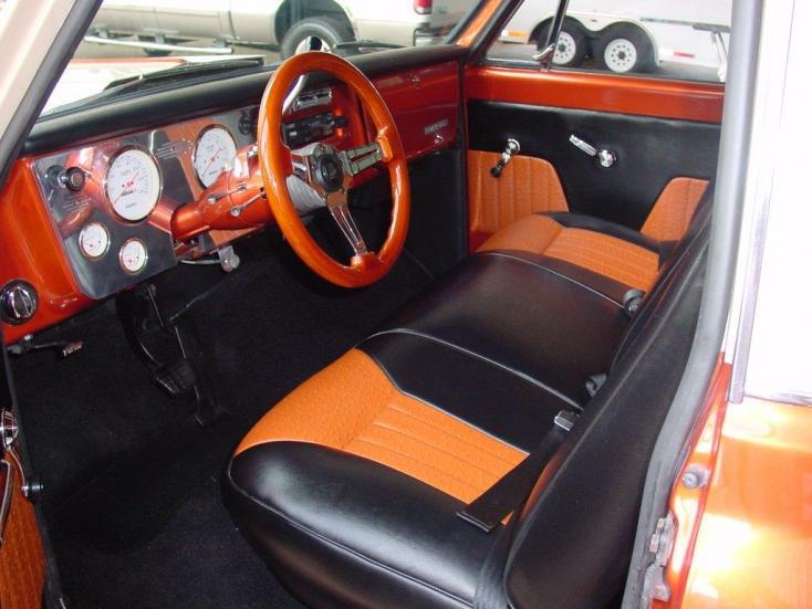 1969 CHEVROLET STEP-SIDE PICKUP - Interior - 117697