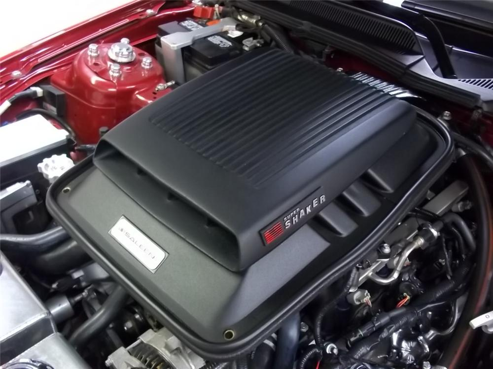 2006 FORD SALEEN MUSTANG SUPERCHARGED CONVERTIBLE - Engine - 117703