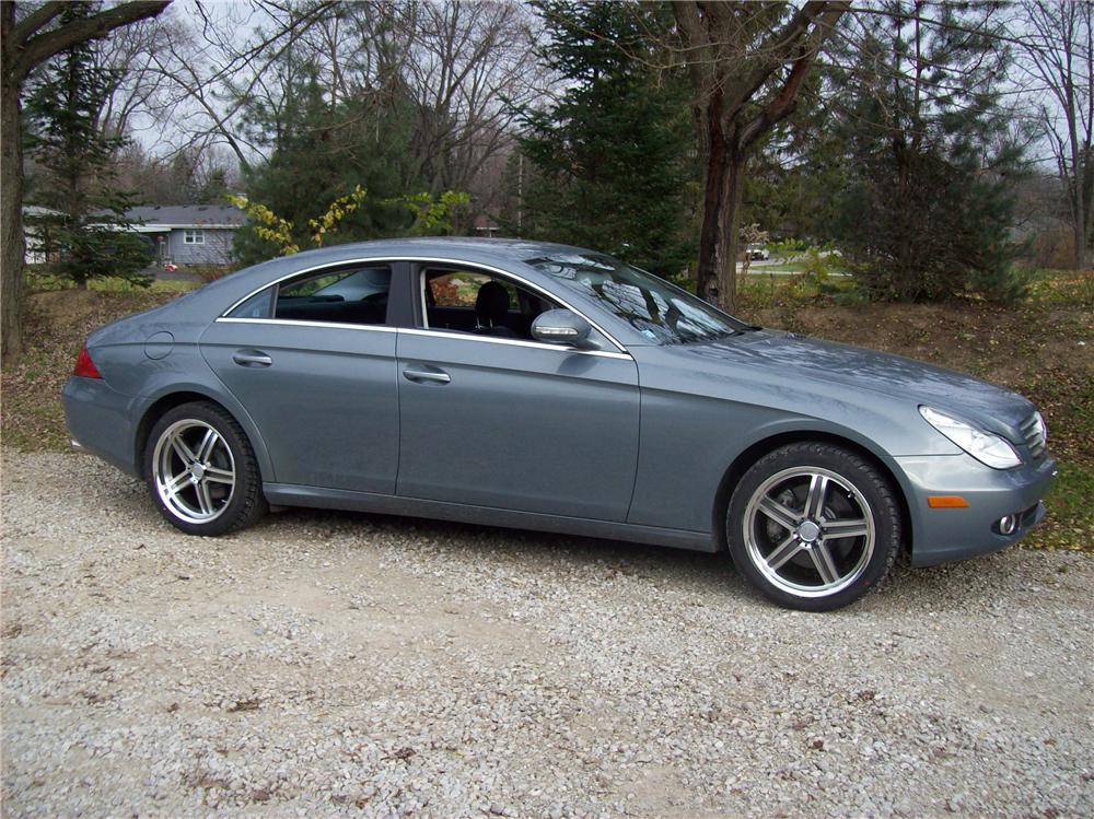 2006 mercedes benz cls 500 4 door sedan 117708