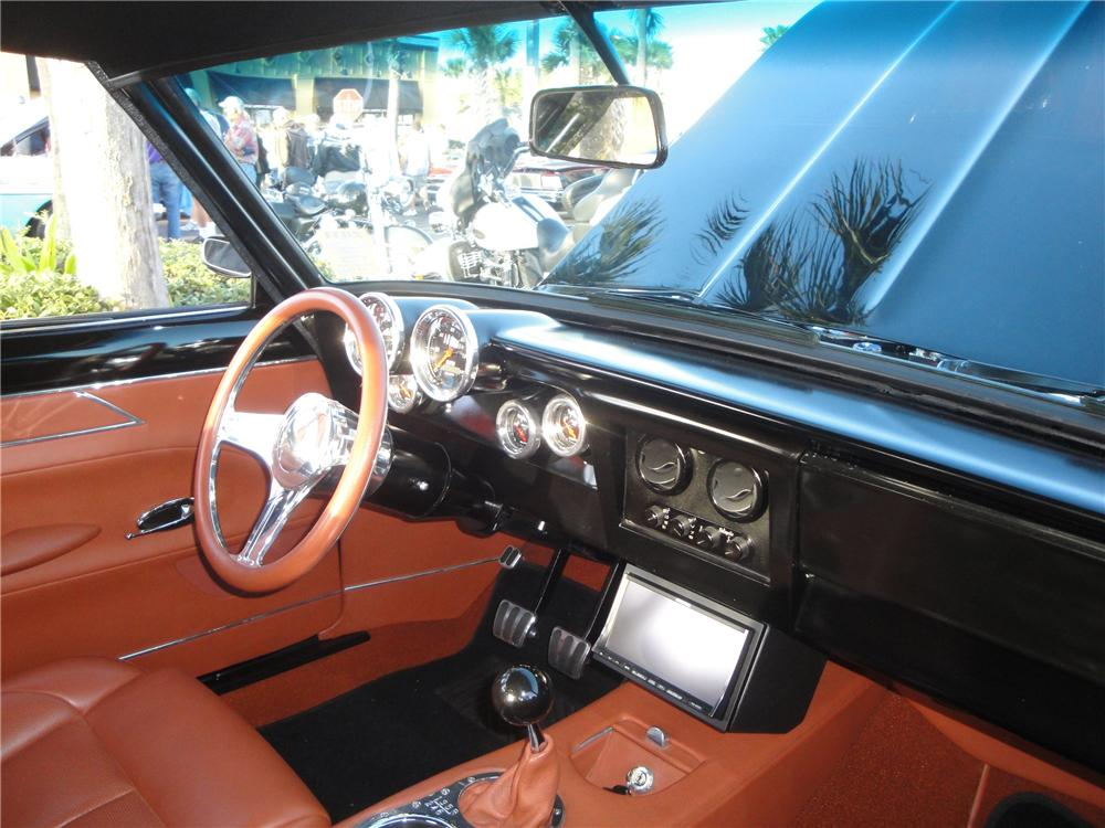 1967 CHEVROLET CHEVY II CUSTOM 2 DOOR COUPE - Interior - 117711