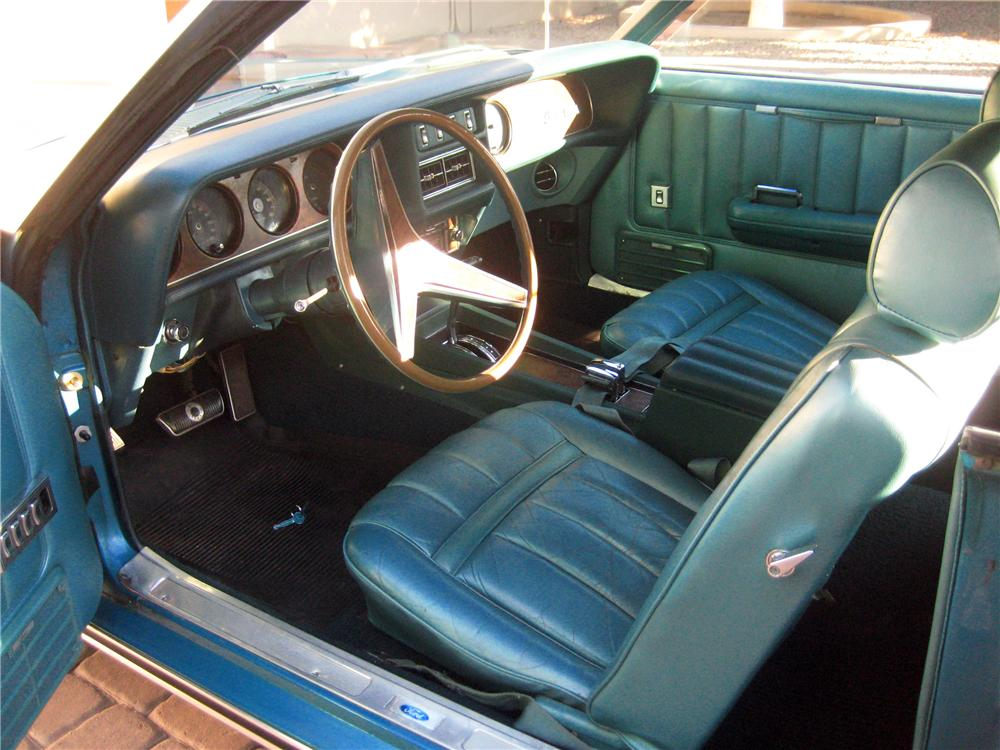 1969 MERCURY COUGAR XR7 CONVERTIBLE - Interior - 117747