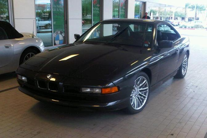 1992 BMW 850 I COUPE - Front 3/4 - 117755