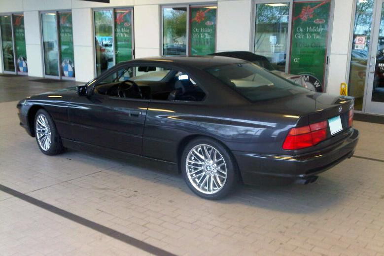 1992 BMW 850 I COUPE - Rear 3/4 - 117755